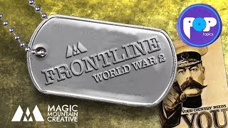 Front line [POPTOPICS] Song about WW2 [KS2]