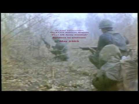 Vietnam Operations 173rd Airborne Brigade (Lyrics The Green Beret by Staff Sgt. Barry Sadler)