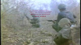 Vietnam Operations 173rd Airborne Brigade (Lyrics The Green Beret by Staff Sgt. Barry Sadler)