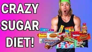 I ONLY ate CANDY for 24 Hours! (Sugar High!)
