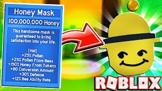 My Girlfriend Buys The Honey Mask In Roblox Bee Swarm Simulator