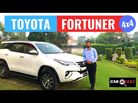 2019 Toyota Fortuner 4X4 MT Variant Full Detailed Review | Toyota fortuner India | CarQuest