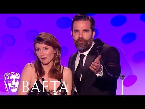 Rob Delaney & Sharon Horgan win Writer - Comedy for Catastrophe | BAFTA TV Craft Awards 2016