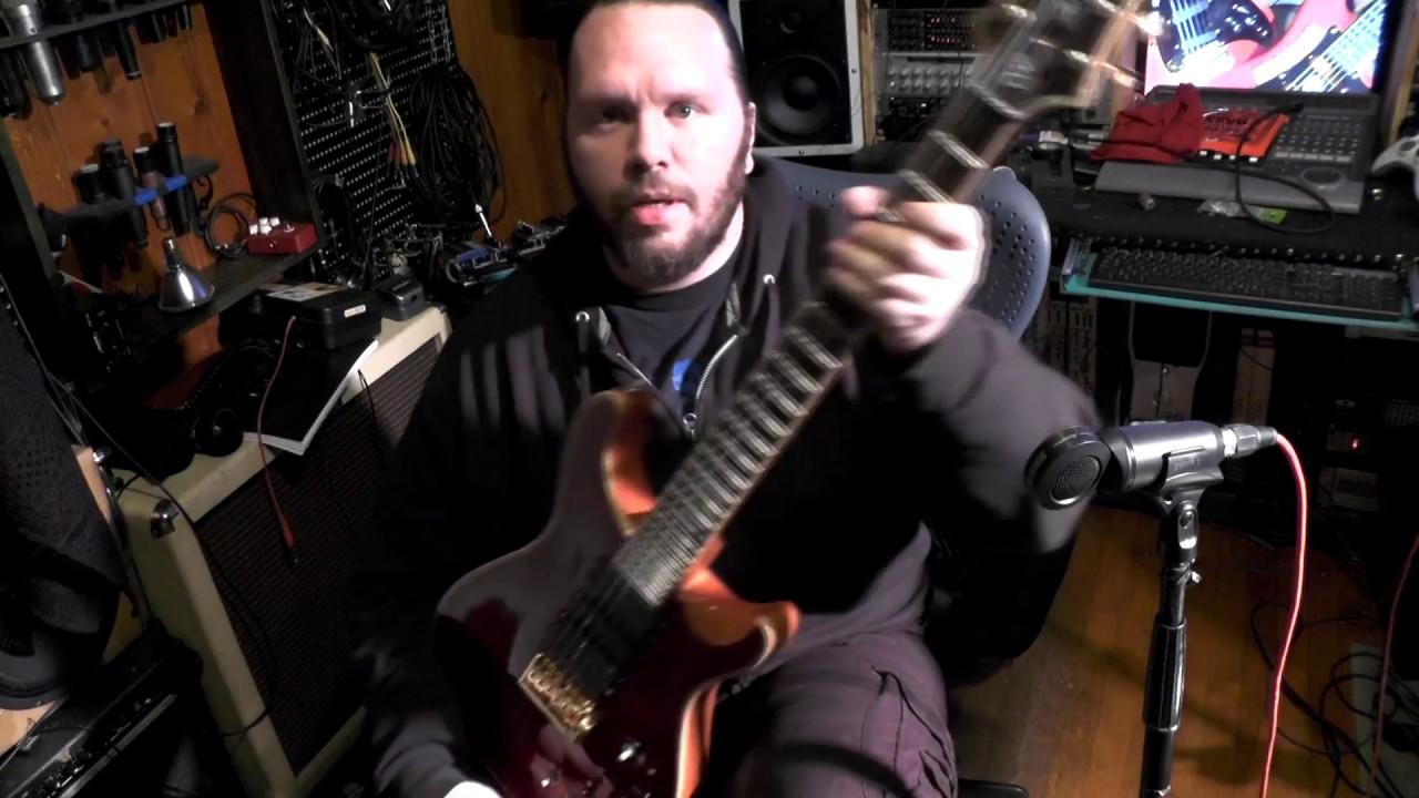 crazy guitar wiring demo