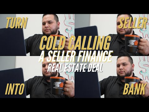 Cold Calling A Seller Finance Deal | Wholesaling Real Estate
