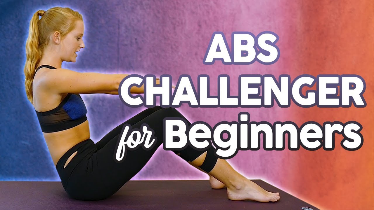 Flat Abs, Obliques & Lower Belly with Banks! 14 Minute Ab Workout for Beginners, Fitness At Home