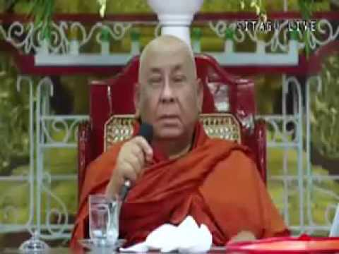 Heads of Buddhist Extremists in Myanmar