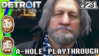Detroit (A-Hole Playthrough) - PART 21: Socio-Bot | CHAD & RUSS