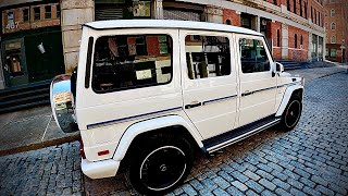 2017 Mercedes Benz G Class AMG G63 POV 4K 60 FPS Video Test Drive NYC Streets to...