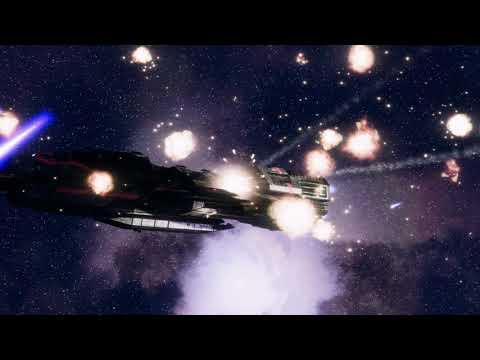 BSG Deadlock Basestar battle |