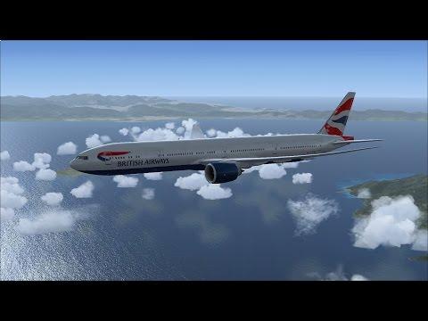 Dublin - Rome | Flight Simulator X (FSX) | PMDG 777-300ER
