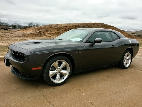 All New Granite Crystal 2015 Dodge Challenger R T Plus
