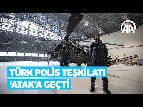 Türk Polis Teşkilatı 'Atak'a geçti