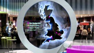interactive motion graphics for property exhibition