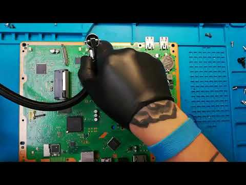 ps3 super slim complete cleaning and thermal paste replacement