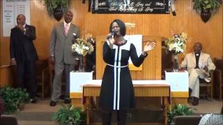 GUEST PSALMIST CELEBRATES DR. LONNIE GRAY