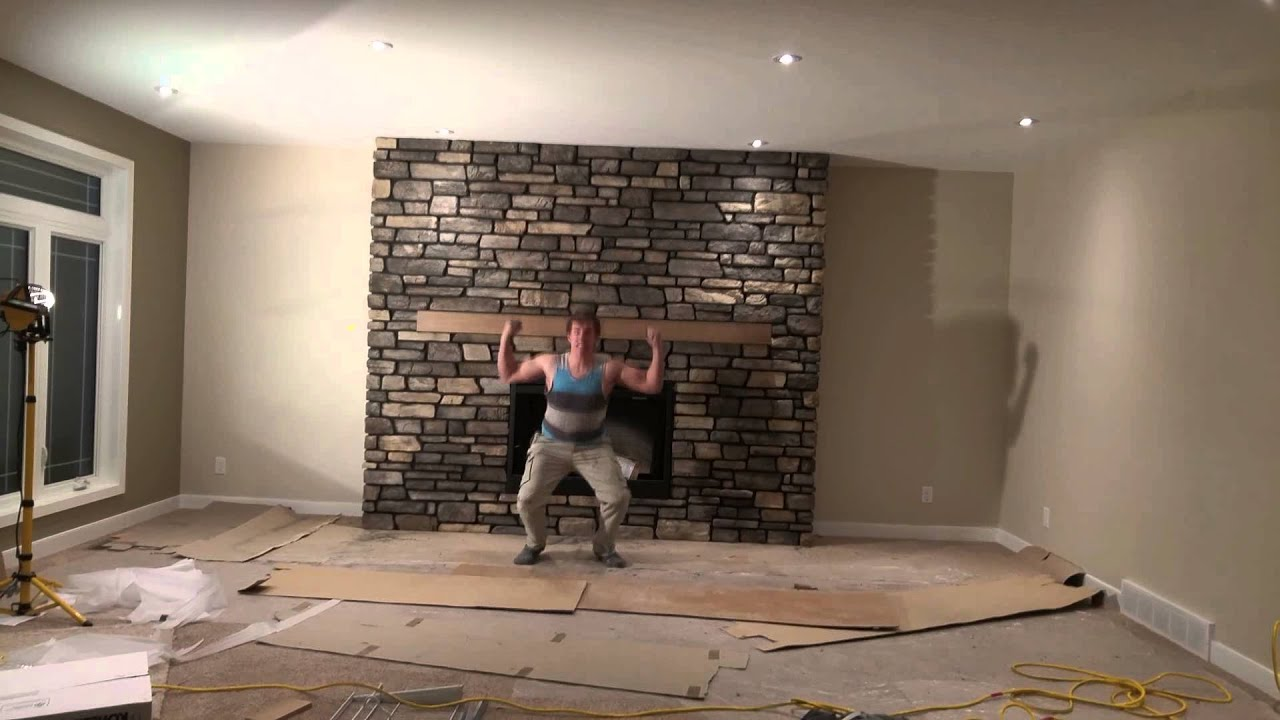 awesome masonry fireplace magic youtube