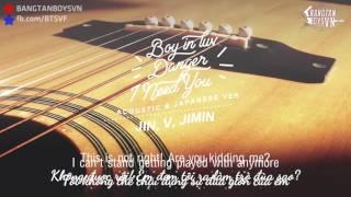 VIETSUB Boy in luv + Danger + I Need You - Jin, V, Jimin {Acoustic  Japanese Version}