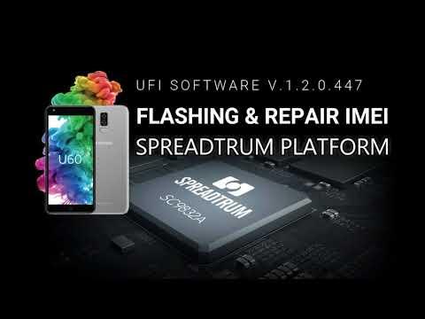 Flashing And Repair Imei Spreadtrum Platform with UFI BOX