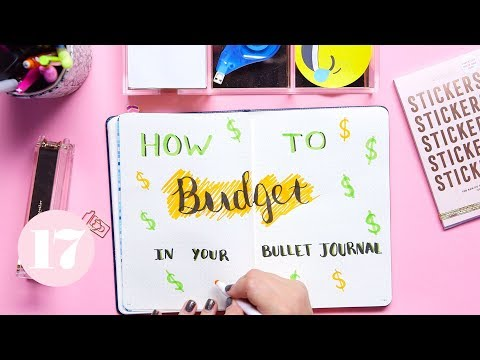 How To Budget in Your Bullet Journal | Plan With Me