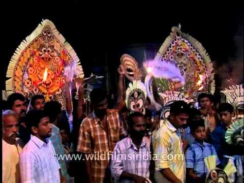 Padayani: Ten days annual festival of Kerala