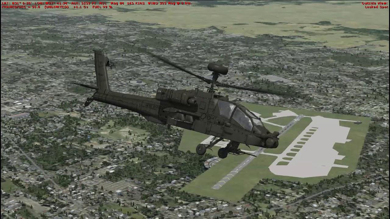 Flight Sim Historian Episode CXLIV: Boeing AH-64 Apache (FSX:SE)