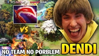 Dendi is Totally Destroyed Enemies Mid with His Templar Assassin