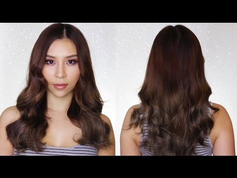 How To Curl Long Hair Fast