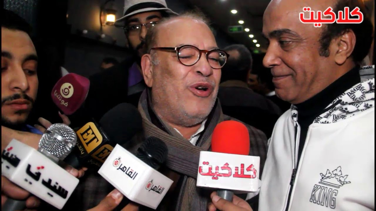 اضحك مع الفنان صلاح عبدالله لحظة دخوله تكريم الفنان حسن حسني : الموقف اللي انا فيه وحش !