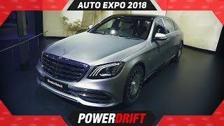 2018 Mercedes Maybach S650 @ AutoExpo : PowerDrift