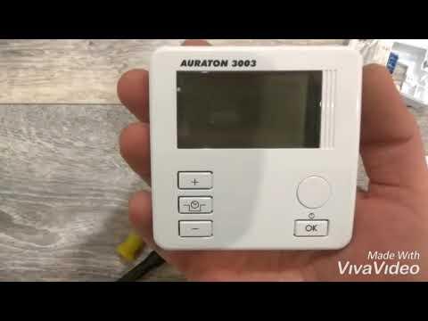 Подключение терморегулятора auroton 3003 к газовому котлу proterm gepard 23 mtv