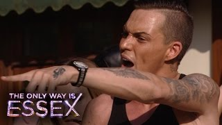 The Only Way Is Essex - Gemma And Bobby Fight At The Pool Party