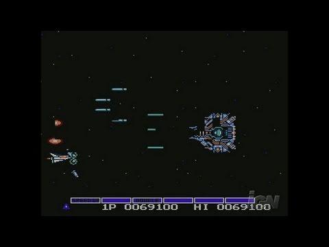 Gradius Nintendo Wii Clip - Boss Battle