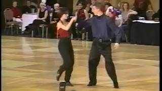 Jeramiah Dillow & Jennifer DeLuca 2000 Capital Swing Junior Routine Exhibition