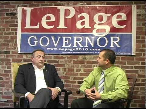 Paul LePage interview: 1 of 3