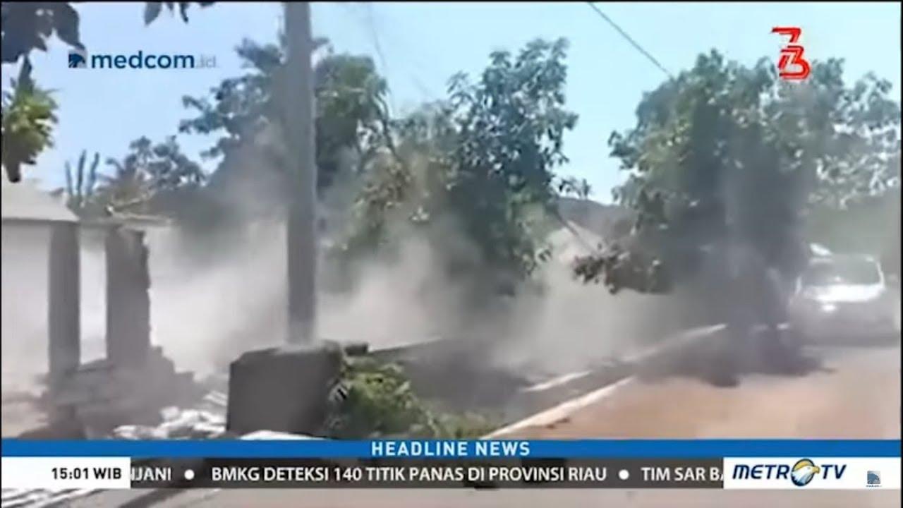 Video Kepanikan Saat Gempa Susulan Menggetarkan Lombok  Agustus