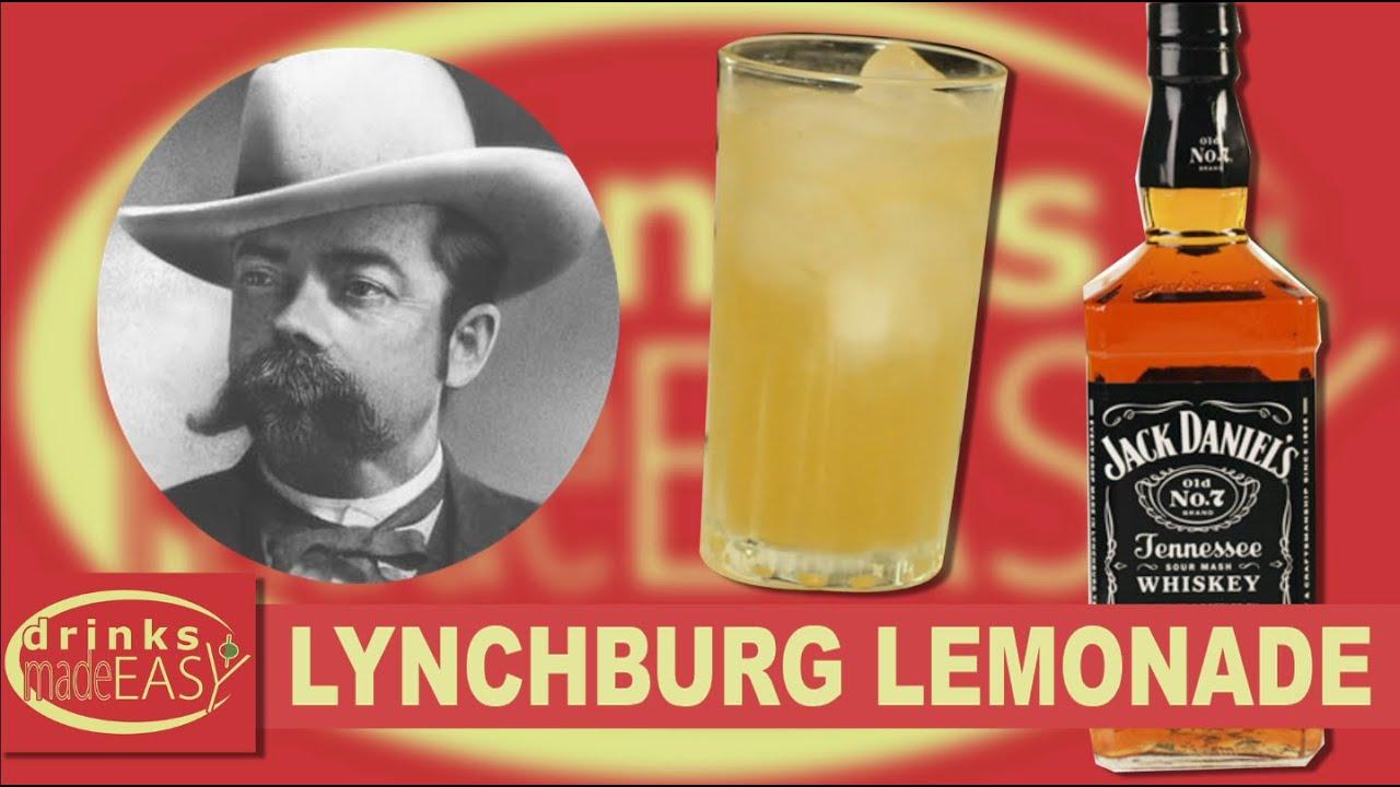how to make jack daniel 39 s lynchburg lemonade drinks made. Black Bedroom Furniture Sets. Home Design Ideas