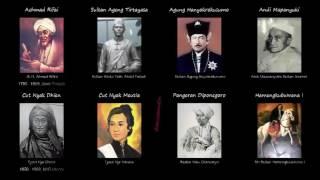 Daftar Nama Pahlawan Nasional Indonesia - Lengkap Dengan Gambar HD