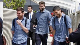 Spanish Cup Final 2016: FC Barcelona's trip to Madrid