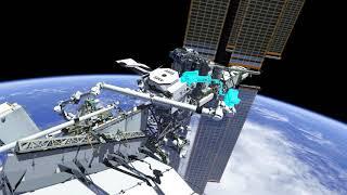Expedition 61 - Spacewalk EVA 64 animation