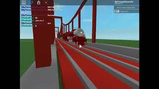 ROBLOX Train Coming In Bridge