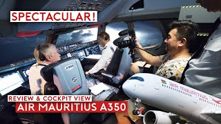 spectacular-thunderstorm-on-air-mauritius-a350-flight-review-cockpit-view