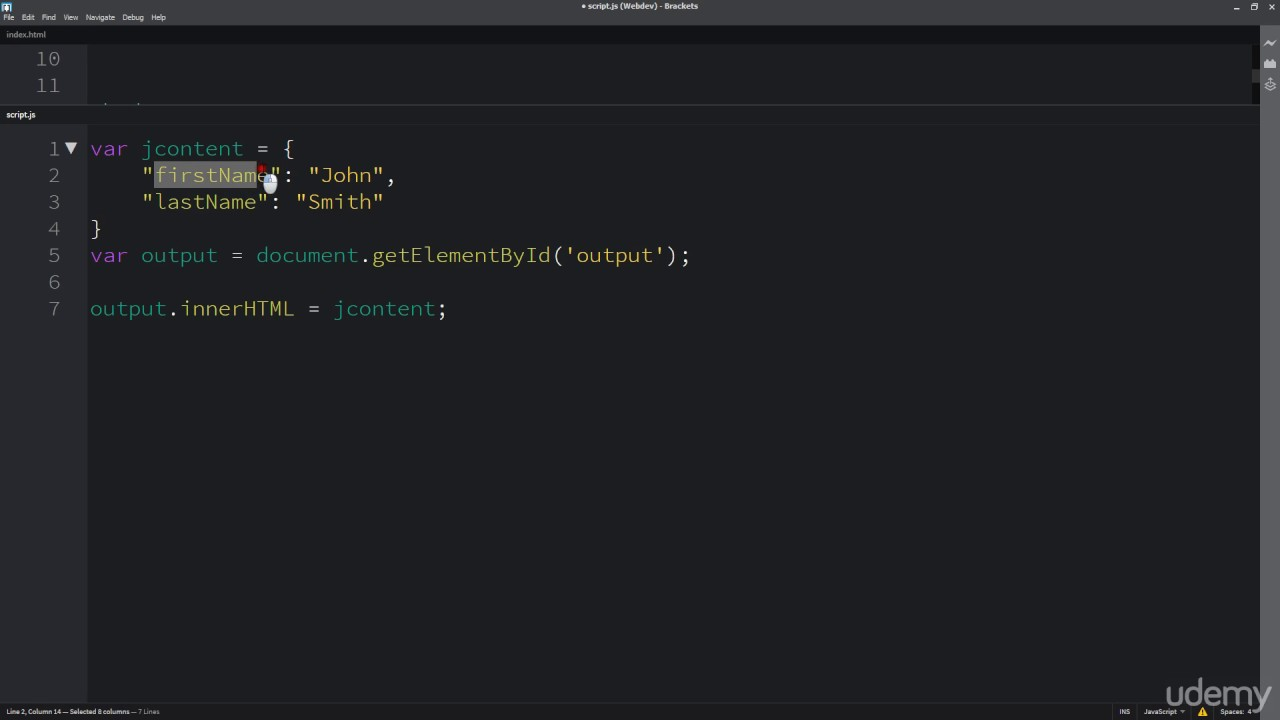 How to Get JSON data to HTML page