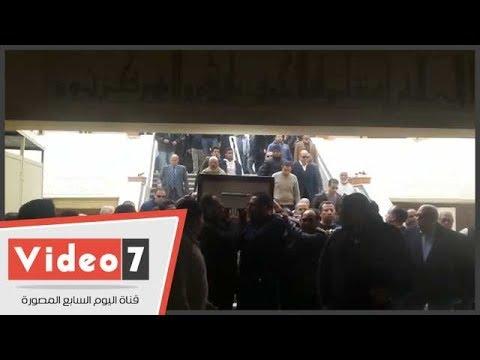 تشييع جنازة الناقد على أبو شادى من مسجد الصديق بمساكن شيراتون  - 13:22-2018 / 2 / 17
