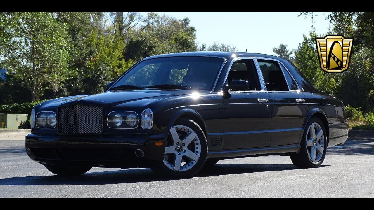 2004 bentley arnage gateway classic cars orlando 657 youtube vanachro Images