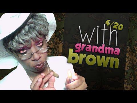 4/20 with Grandma Brown