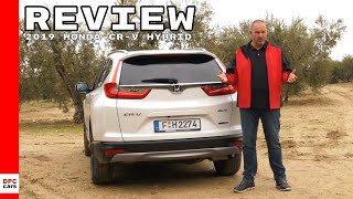 Honda CR-V Hybrid SUV 2019 Review