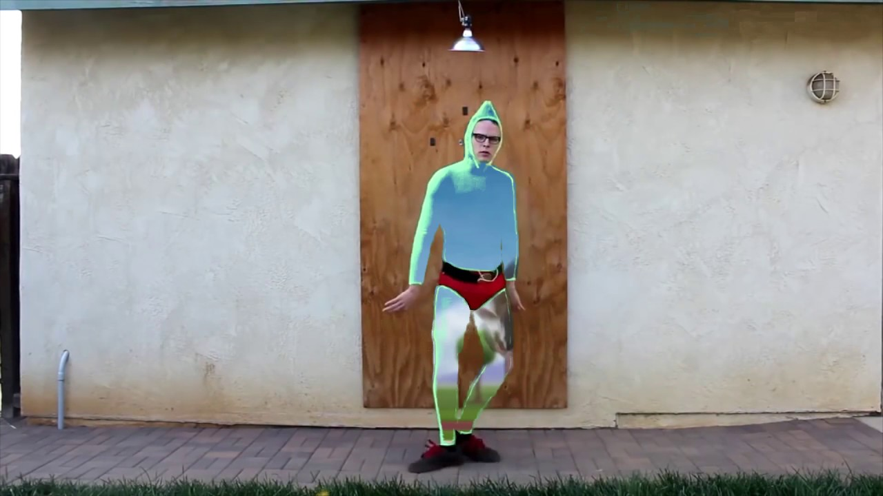 We Are Number One With Idubbbz Green Alien Suit Used As A Green