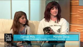 The Gallup-McKinely County Humane Society Loves Dogs & Kids