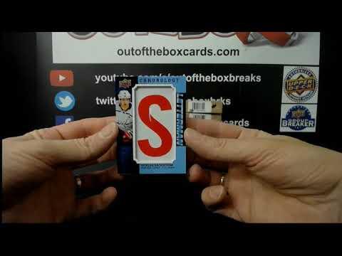 Out Of The Box Group Break #7989 19-20 CHRONOLOGY INNER CASE TEAM BUY